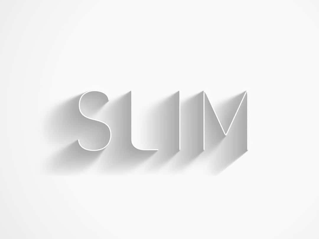Slim Font